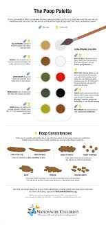 The Poop Palette What Do All Of Those Colors Mean