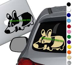 Corgi Decal Sticker