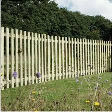 Picket Fence Panel 4 X 6 Wooden Supplies
