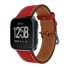 23mm genuine leather watch strap