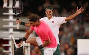 Federer, Nadal play to record crowd in Cape Town - The Hindu
