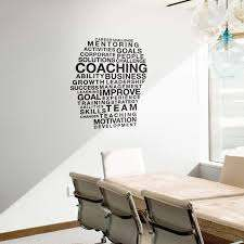 Amazon Com Vinyl Wall Art Decal Motivational Head Coaching Words 40 X 34 Positive Affirmations Workplace Bedroom Apartment Decor Business Indoor Outdoor Home Living Room Office Quotes Arts Crafts Sewing