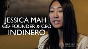 Jessica Mah, Co-Founder and CEO of Indinero, On the Value of SaaStr Annual  for Founders! - YouTube