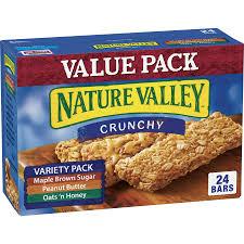 nature valley crunchy granola bars 24