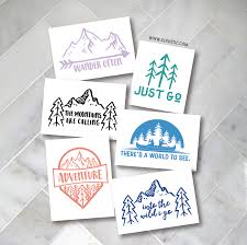 Adventure Decal Travel Decal Explore Decal Car Decal Yeti Decal Yeti Decals Car Decals Faith Decal