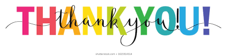 Rainbow Thank You Images, Stock Photos & Vectors | Shutterstock