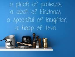 A Pinch Of Patience Vinyl Wall Decal Inspirational Wall Signs