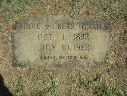 Addie Vickers Hughes (1892-1982) - Find A Grave Memorial