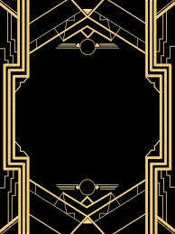 Great Gatsby Invitation Templates Blank Fiesta De Gatsby