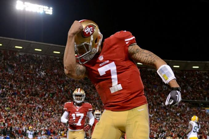 Image result for Jim Harbaugh Strongly Defends Alex Smith For Staying In San Francisco, Claims Colin Kaepernick Will Be 'Just Fine'""