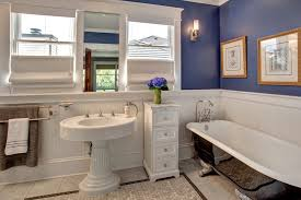 bellevue house craftsman bathroom