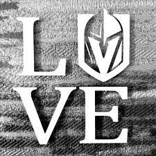 Las Vegas Golden Knights Love Car Truck Vehicle Window Decal Etsy