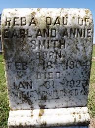 Reba Smith (1904-1920) - Find A Grave Memorial