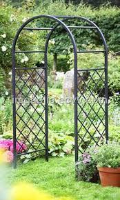 green metal outdoor garden arch mb3