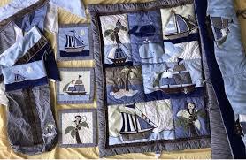 nojo ahoy mate crib bedding set for