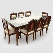 exclusivelane teak wood 8 seater dining