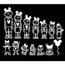 Disney Family Decals For Your Vehicle I Can T Wait To Buy These Next Time In Disney World Disney Scrapbook Disney Cars Disney Secrets