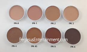 ben nye makeup pk 45 brown light