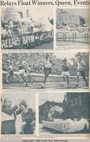 Drake Times-Delphic, 1949, Relays Float Winners, Queen, Events - Drake  Relays - Drake Digital Collections