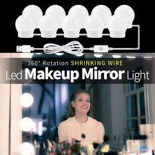 usb led 12v makeup l 6 10 14 bulbs
