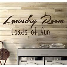 Shop Laundry Room Decor Wall Quotes Wall Art Decal Sticker Brown Overstock 11179279