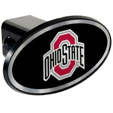 Ohio State University Car Accessories Hitch Covers Ohio State Buckeyes Auto Decals Bigtenstore Com