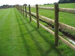Round And Half Round Fence Posts And Rails Hodges Lawrence Ltd