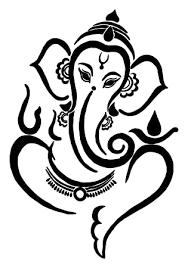 Ganesha Line Art Vinyl Decal Sticker Car Window Home Garden Decor Decals Stickers Vinyl Art Ayianapatriathlon Com