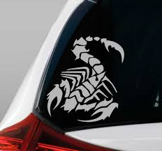 Scorpion Car Vinyl Sticker Tenstickers