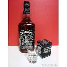 jack daniels 750ml 43 shot glass set 2