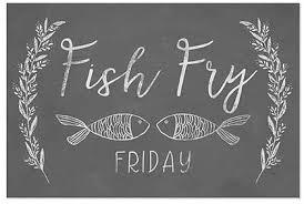 Amazon Com Cgsignlab Fish Fry Chalkboard Window Cling 36 X24 Industrial Scientific