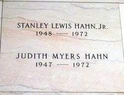 Judith Duane Myers Hahn (1947-1972) - Find A Grave Memorial