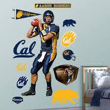Aaron Rodgers Cal Cal Golden Bears Golden Bears Bear Wall Decal