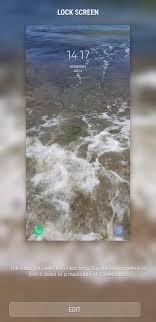 set a video as lock screen wallpaper
