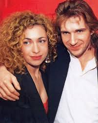 Ralph Fiennes and Alex Kingston (My mind is exploding right now ...
