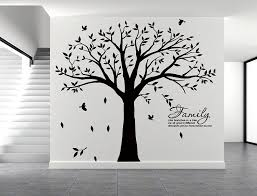 Tree Wall Decal For Classroom Textured Small Silhouette Art Living Room Large Baby Boy Vamosrayos