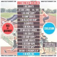 travel workout cardio crush free