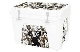 Cooler Wrap Accessories Decal Sticker Fits Yeti Tundra 45 L I Snow Cam Deer Head Ebay