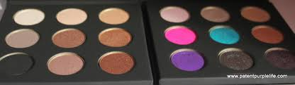 mufe artist shadow palettes 1 and 2