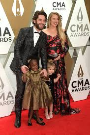 Thomas Rhett, Willa Gray Akins, Ada James Akins, and Lauren Akins at the  2019 CMA Awards | These 30 Photos From the 2019 CMA Awards Will Make You  Feel Like Part of