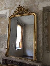 louis philippe gilt mirror