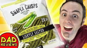 harvest snaps snapea crisps review