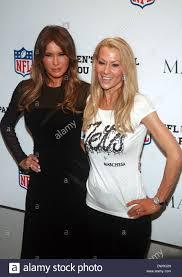 Melania Trump and Suzanne Johnson The NFL & Vogue Celebrate NFL Stock Photo  - Alamy
