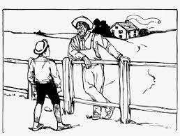 Image Freeuse Farm Fence Clipart Black And White Farmer Drawing Free Transparent Png Download Pngkey