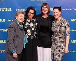Ada Ciniglio, Lisa Gold, Kristin Guiter, Miriam Magdieli at ArtTable's 25th  Annual Benefit & Award Ceremony / id : 2885565 by Collins Nai/BFA.com