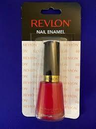 revlon nail polish enamel cherries in