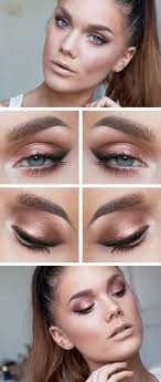 simple yet stylish light makeup ideas