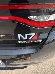 Added This Beautiful Decal To My Car Masseffect