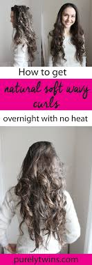 curl your hair without heat