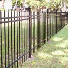 China Oem Steel Fencing Wholesale Modern Metal Used Picket Fencing For Sale China Handrail Fence